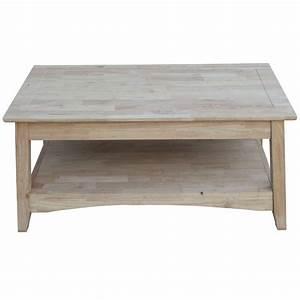 international concepts bombay unfinished lift top coffee With unfinished lift top coffee table