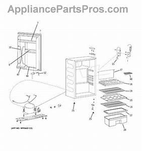 Parts For Ge Smr04dasbcs  Refrigerator Parts