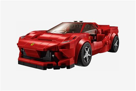 A spectacular toy playset featuring a brilliantly detailed ferrari f8 tributo. LEGO Speed Champions Ferrari F8 Tributo Kit Release ...