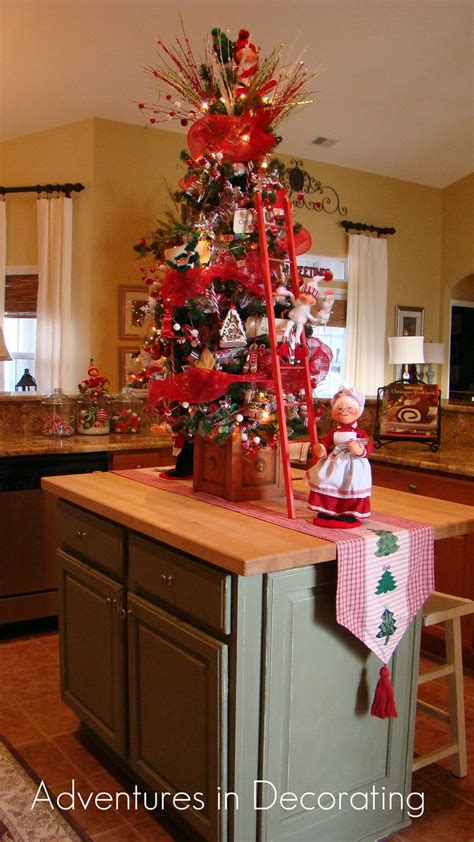 kitchen christmas tree ideas adventures in decorating whimsical christmas kitchen