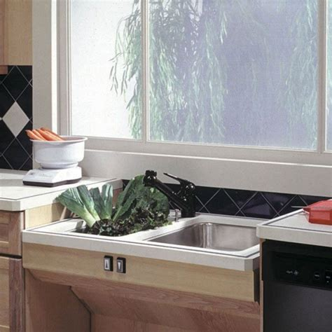 ada compliant kitchen sinks approach adjustable sink lift system handicap accessible 3983