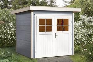 Gartenhaus Grau Modern : gartenhaus flachdach weka vinea gr e 1 ebay ~ Buech-reservation.com Haus und Dekorationen
