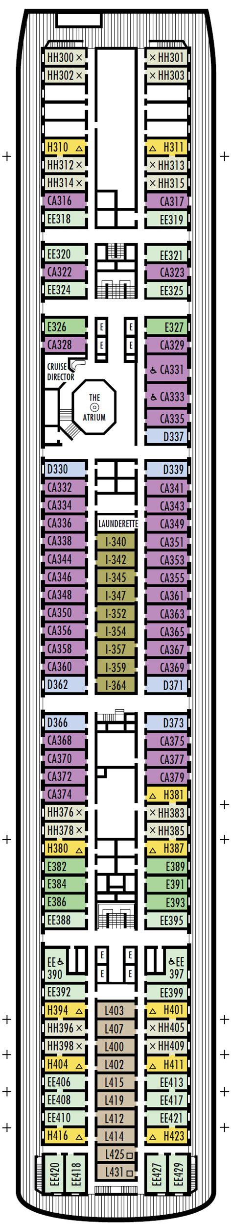 cabin floor plans with loft veendam america line cruise direct