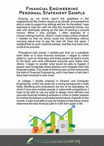 personal statement for engineering management
