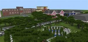 School And Neighborhood Creation Minecraft PE Maps