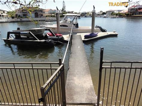 Runaway Bay Pontoon Boats For Sale by Pontoon System Second Hand Piled Pontoon And Catwalk