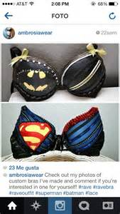 Rave Superhero Bras
