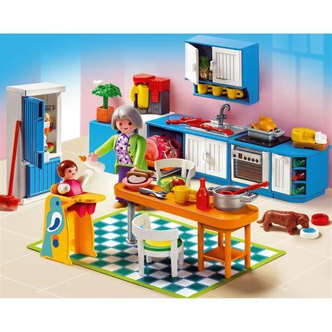 playmobil grande mansion kitchen 5329 20 00 hamleys