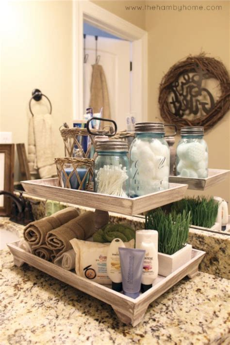 Bathroom Countertop Decorating Ideas by 51 Awesome Diy Organization Bathroom Ideas You Should Try