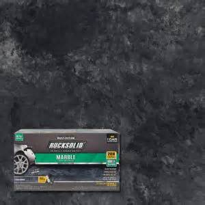 rust oleum rocksolid 70 oz marble obsidian garage floor kit 306320 the home depot
