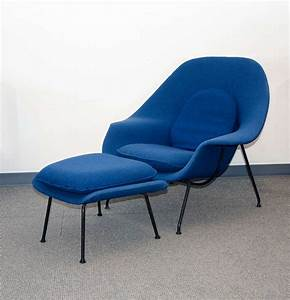 Vintage Womb Chair And Ottoman  Eero Saarinen For Knoll At 1stdibs