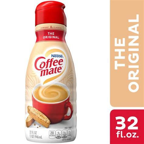 Sugar free hazelnut liquid coffee creamer. Nestle Coffee mate The Original Liquid Coffee Creamer 32 fl oz. - Walmart.com - Walmart.com