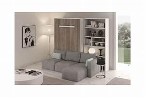 lit escamotable avec canape integre my blog With lit rabattable avec canapé