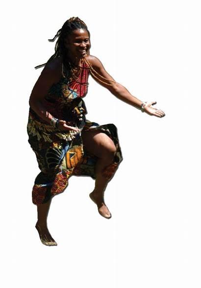 Native African Dancer Dancing Dance Lands Drums