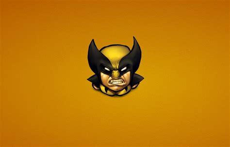 Wallpaper Wolverine, Logan, Minimalism, Comics, Xmen, X