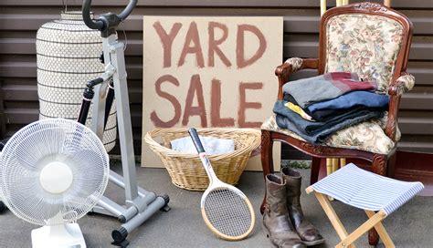 Backyard Sale by Yard Sale Items In Demand Garage Sale Treasures