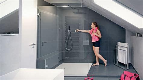 Große Dusche Im Kleinen Bad  Die Badgestalter