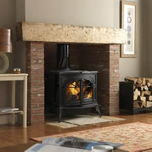 Wood-Burning Stove with Fireplace