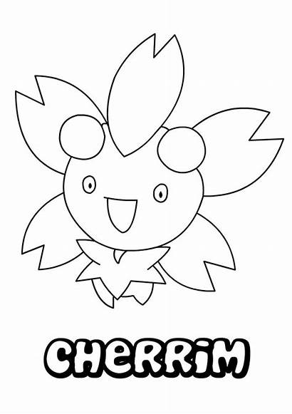 Pokemon Coloring Pages Grotle Cherrim Cuba Flag