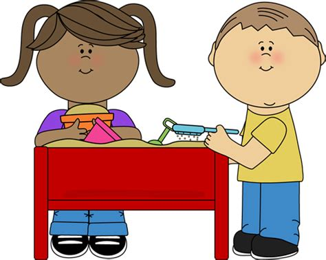 kid sitting  table clipart clipground
