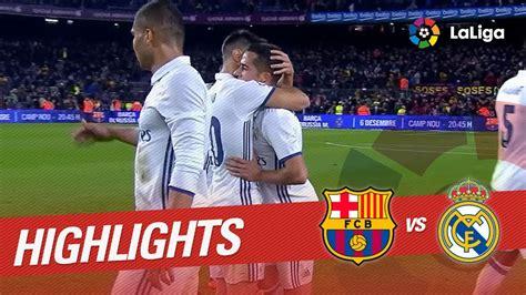 resumen real madrid vs barcelona resumen de fc barcelona vs real madrid 1 1 vidshaker