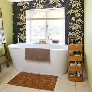bathroom feature wall ideas style bathroom with bamboo feature wall design room ideas housetohome co uk