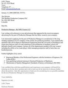 How To Write A Cover Letter Sle How To Write A Cover Letter My Document