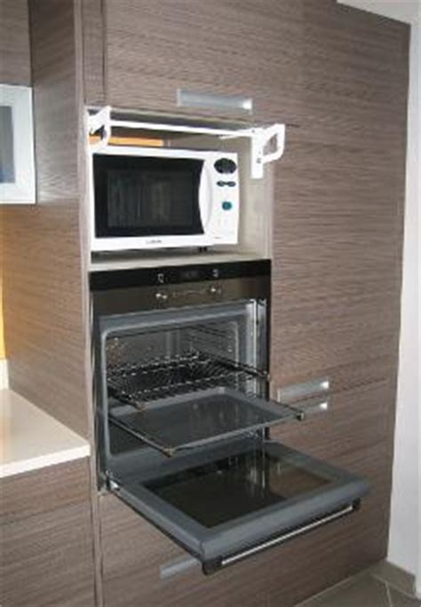 colonne de cuisine pour four et micro onde cuisines du genevois votre artisan cuisiniste autour de ève