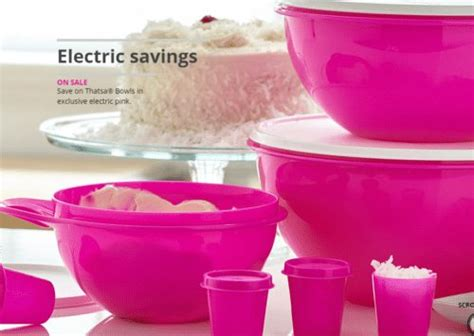 tupperware sale thatsa bowl  pc set