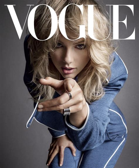 taylor swift covers vogue  september