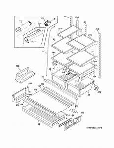 Shelves Diagram  U0026 Parts List For Model Fpbs2777rf0