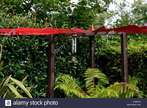Japanischer Garten Gong by Wind Chime Stockfotos Wind Chime Bilder Alamy
