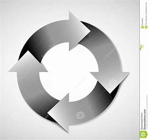 Vector Life Cycle Diagram Stock Vector  Illustration Of