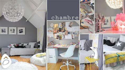 id de d o chambre ado fille décoration une chambre d 39 adolescente gris blanc et jaune