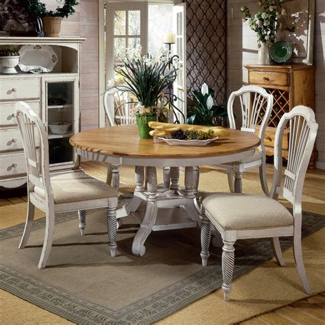 white wood round dining table wilshire wood round oval dining table chairs in pine