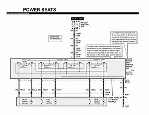 2000 ford excursion power seat wiring diagram along with repair guides