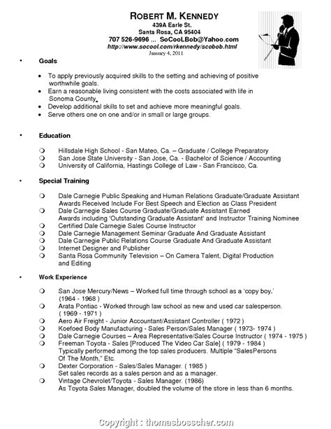 Auto Resume by Styles Car Sales Manager Resume Objectives Car Sales