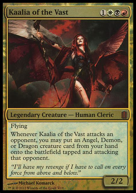 Master Of Cruelties Edh Deck by Kaalia Of The Vast Alter By Jb Alterz 92
