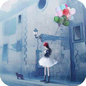 Rainy Day Girl Live Wallpaper - Android Apps on Google Play