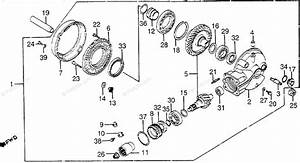 Honda Motorcycle 1983 Oem Parts Diagram For Final Driven