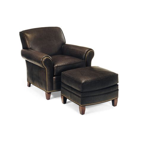 hancock and moore leather chair and ottoman hancock and moore 1296 1295 meadows chair ottoman
