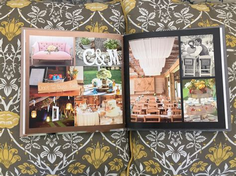 create   memory book  mixbook rustic wedding chic