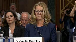 Ford delivers opening statement at Kavanaugh hearing Video ...