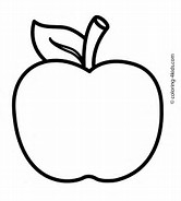 HD Wallpapers Bitten Apple Coloring Page