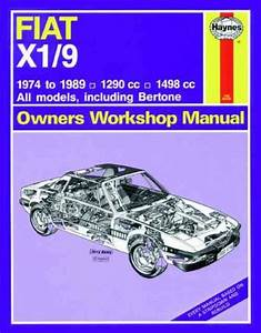 Fiat X1 9 1974 1989 Haynes Service Repair Manual
