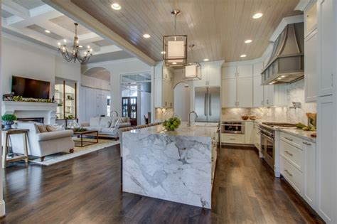 Kings Chapel Parade Homes   Modern   Kitchen   Nashville   by Granite & Stone Design Inc