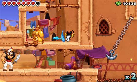 Disney Epic Mickey Power Of Illusion Will Have Aladdin