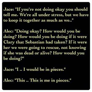 City Of Heavenly Fire Alec Lightwood Quotes. QuotesGram