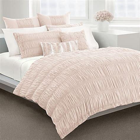 dkny willow blush duvet cover 100 cotton 230 thread