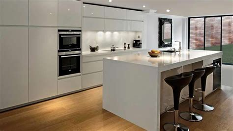 high gloss kitchen doors no handles   Training4Green.com